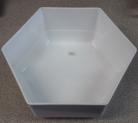 MTA Hexagonal Bowl - 220x100 - White