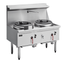 Cobra CW2H-CC - 1200mm Gas Waterless Wok with 2 Chimney burners *** Floor Stock Special ***
