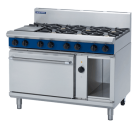 Blue Seal Evolution Series GE58D - 1200mm Gas Range Electric Convection Oven