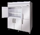 Hoshizaki HFE-187B-AHD-ML Stainless Steel Pillarless Two Split Door Upright Freezer, 1713L