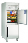 Williams HLG1SDSS Garnet Single Solid Door Stainless Steel Upright Dual Temp Refrigerator/Freezer